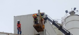 Concrete batching plant and industrial plant uninstallation and installation service-startup